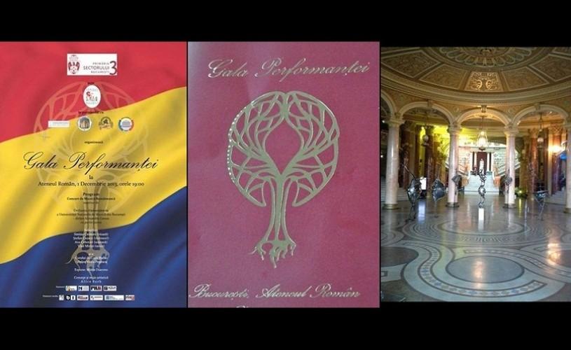 GALA PERFORMANȚEI ediția a II-a, de Ziua Națională a României
