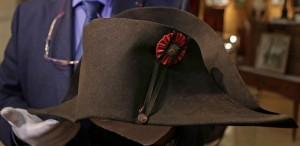 O pălărie care i-a aparţinut lui Napoleon Bonaparte, vândută cu 1,9 milioane de euro