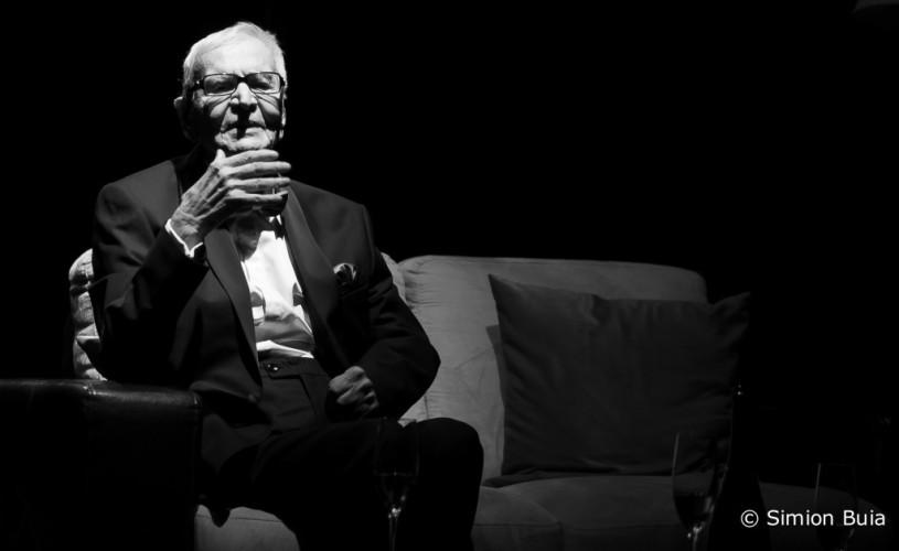 Radu Beligan şi-a sărbătorit cea de-a 96-a aniversare pe scena Teatrului Metropolis