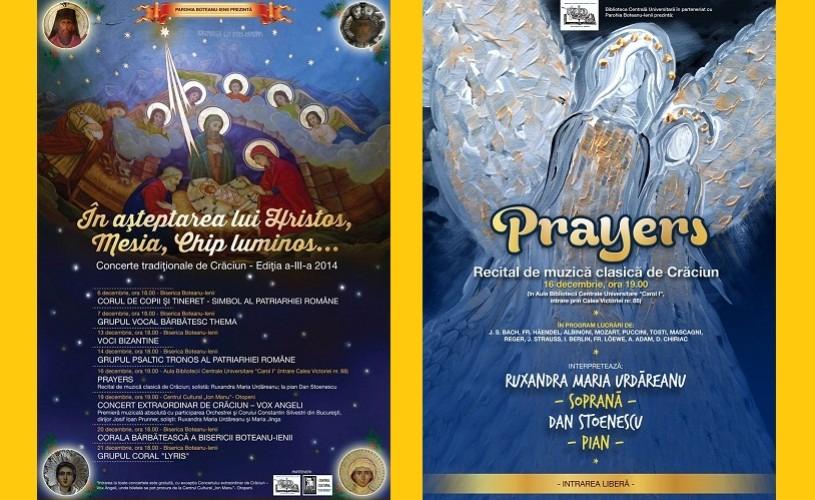 Prayers – Recital de muzică clasică de Crăciun