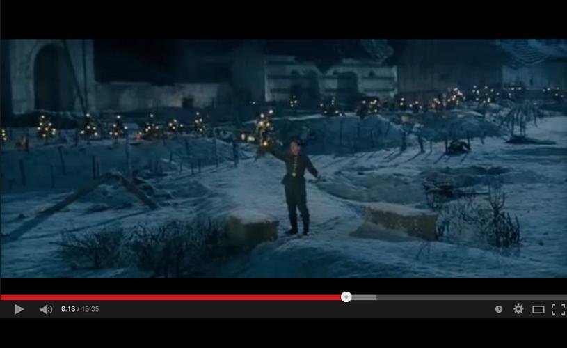 Joyeux Noel, una dintre cele mai emoţionante secvenţe despre Crăciun din filme