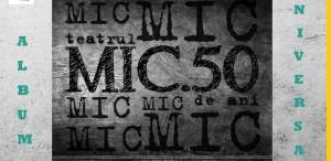 Teatrul Mic, 50 de ani de existenţă - proiecţii, light design şi Nicu Alifantis