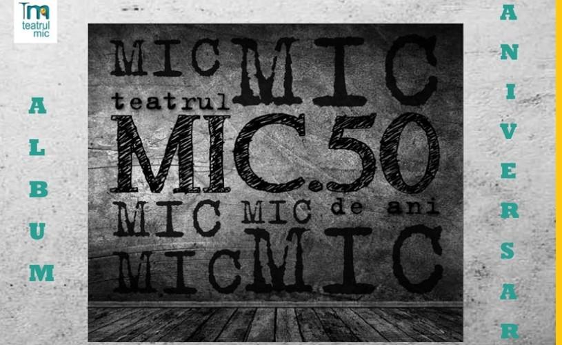 Teatrul Mic, 50 de ani de existenţă – proiecţii, light design şi Nicu Alifantis
