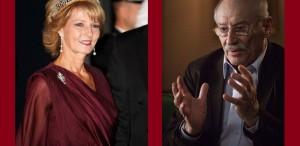 Principesa Margareta şi Victor Rebengiuc, la