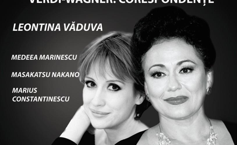 Soprana Leontina Văduva lansează albumul Verdi-Wagner: Corespondențe