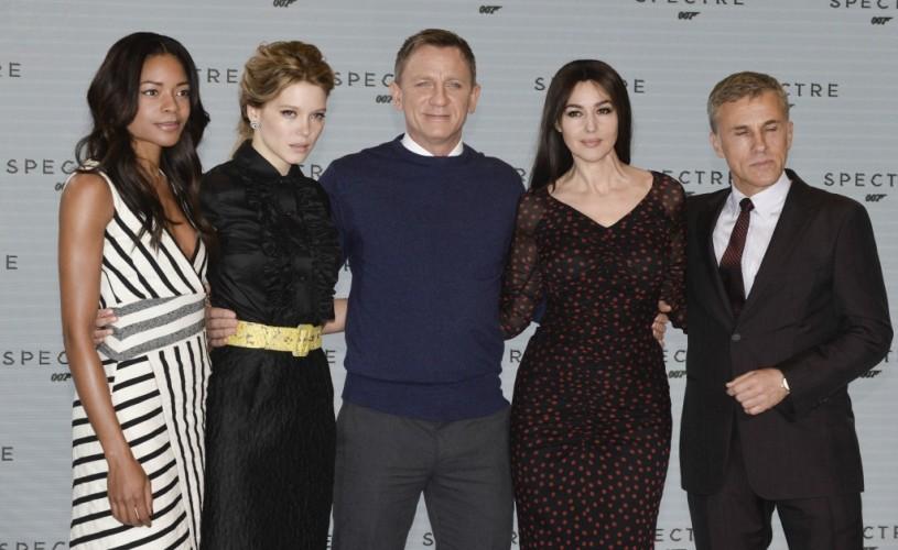 """Bellucci, Seydoux, Waltz & Craig, în """"Spectre"""" –  Bond 24"""
