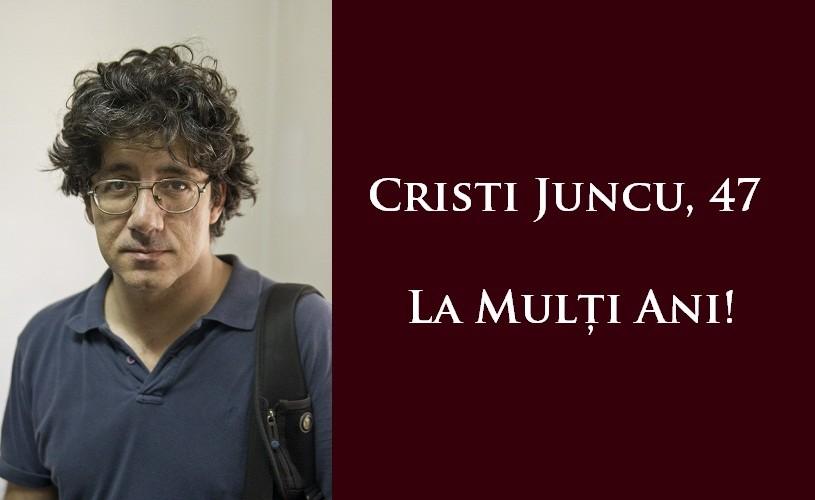 Cristi Juncu – preocupările unui burghez