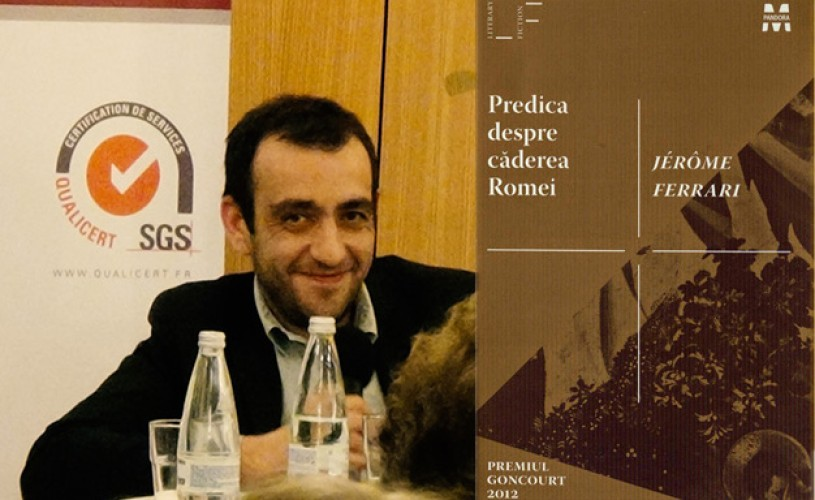 Jérôme Ferrari – lansare de carte la Librăria Humanitas