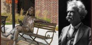 Placheta funerară a scriitorului Mark Twain a fost furată