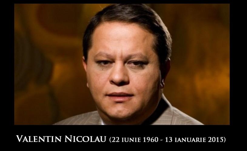 Valentin Nicolau, fost şef al TVR şi proprietarul editurii Nemira, s-a stins din viaţă