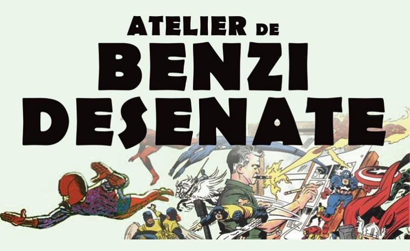 Atelier de benzi desenate cu Robert Obert și Felix Tzele