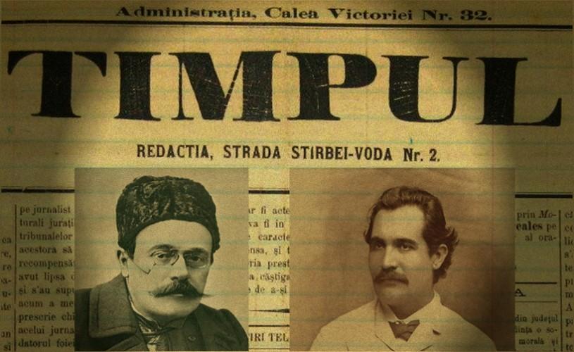 INEDIT Cum arăta o şedinţă de redacţie cu Eminescu şi Caragiale