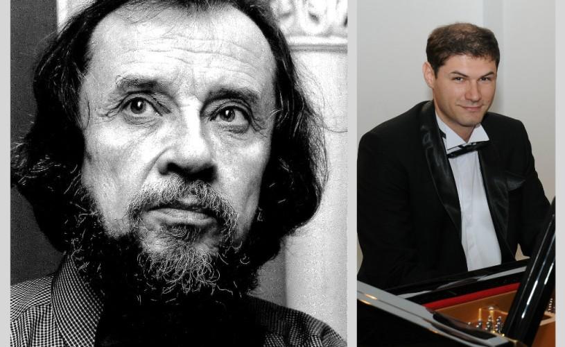Compozitorul Sabin Păutza și pianistul Lucian Velciu – concert la Sala Radio