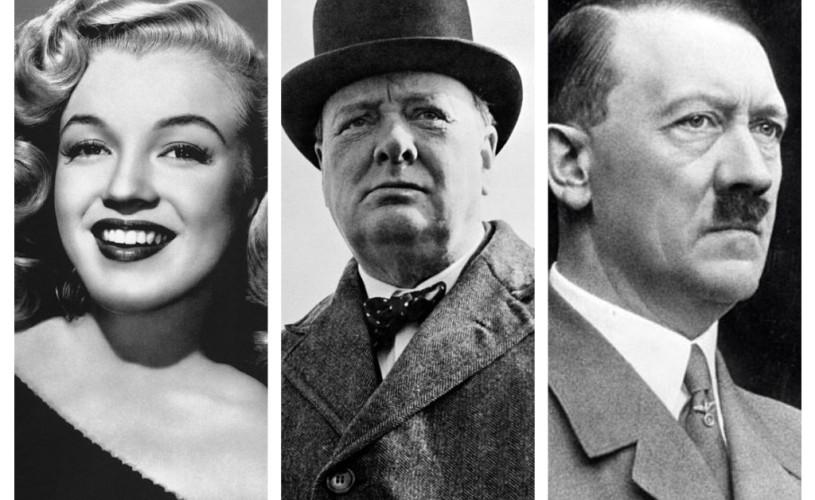 Obiecte deţinute de Marilyn Monroe, Churchill şi Hitler, scoase la licitaţie