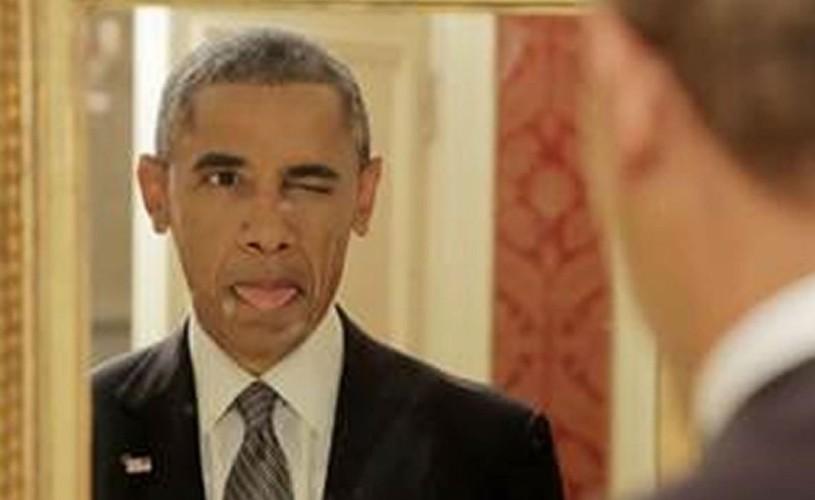 Obama, actor de comedie