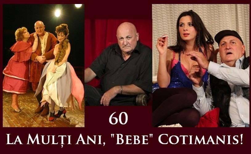 Constantin Cotimanis, 60. La mulţi ani!