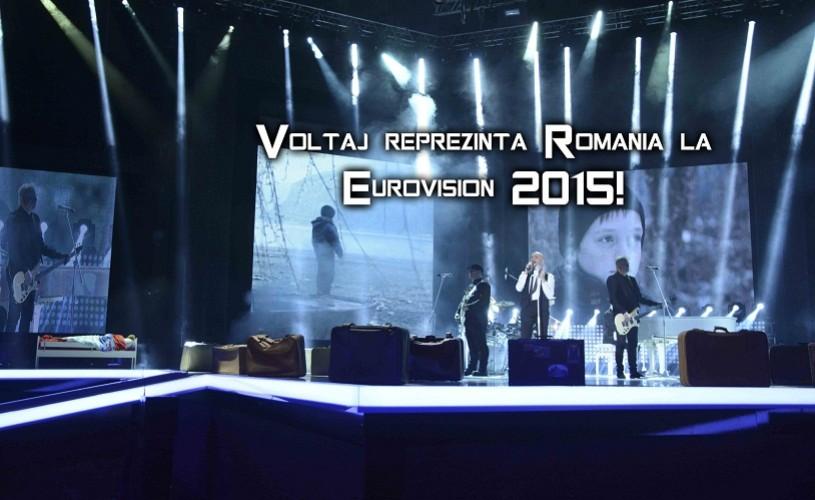 EUROVISION 2015: Voltaj va reprezenta România la competiţia de la Viena