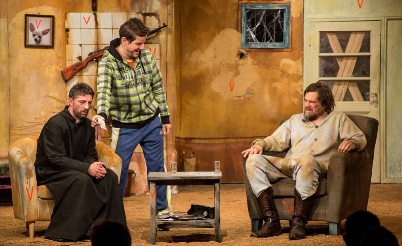 Vestul singuratic, cu Andi Vasluianu, Florin Piersic Jr. şi Vlad Zamfirescu, duminică, la Nottara