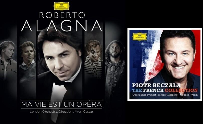 Doi tenori – Roberto Alagna  și Piotr Beczala, două discuri, un singur subiect – Franța