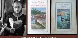 Poveștile lui Dedes - teancul de... Jules Verne. Sau cum m-am apucat de citit
