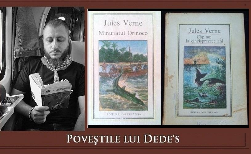 Poveștile lui Dedes – teancul de… Jules Verne. Sau cum m-am apucat de citit