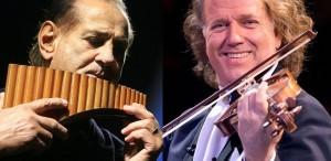 Gheorghe Zamfir, invitatul special al concertelor lui André Rieu de la Bucureşti