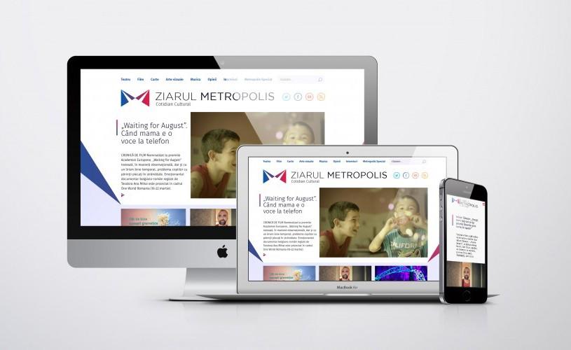 <strong>Ziarul Metropolis</strong> împlinește doi ani și va lansa o aplicație pentru mobil