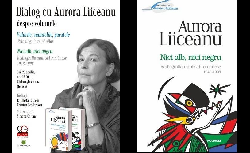 Aurora Liiceanu, la Cărtureşti Verona