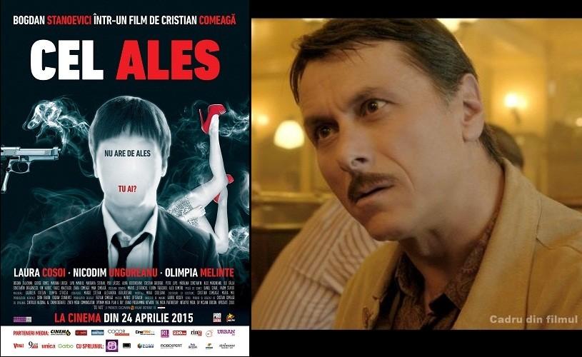 Bogdan Stanoevici este CEL ALES. Din 24 aprilie, în cinematografe