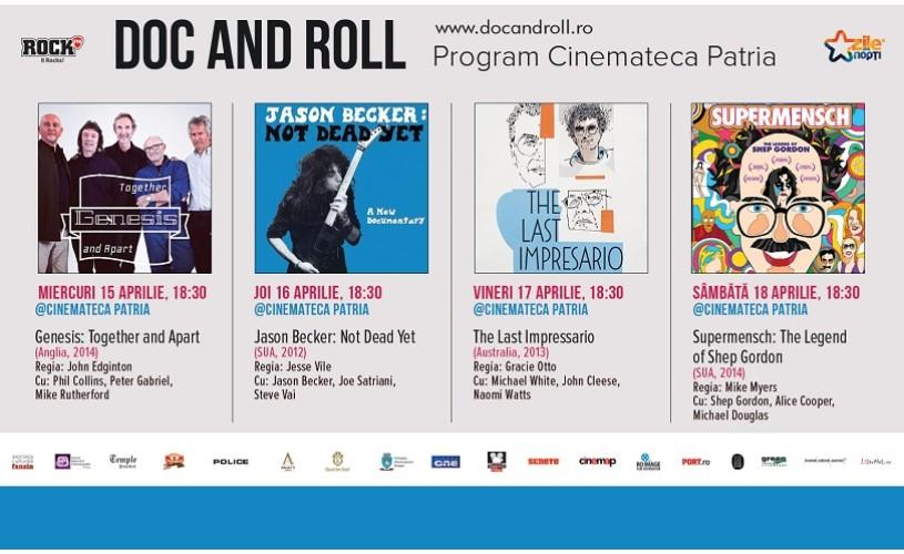 DOC AND ROLL – proiecţii speciale 3D, filme documentare şi concerte