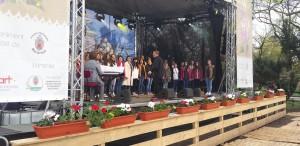 Corul de Copii Radio, concert de Paște în Cișmigiu