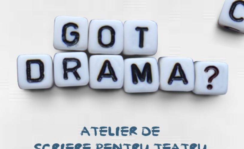 """""""Got Drama?"""", atelier de scriere pentru teatru, la Control N"""