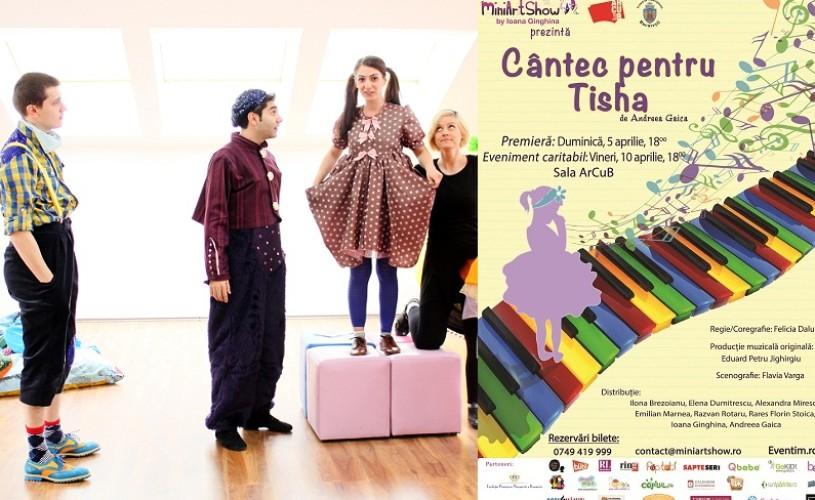 Cantec pentru Tisha, la ArCub – cadou pentru micuții cu nume de floare