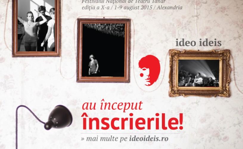 Au început înscrierile la Festivalul Ideo Ideis