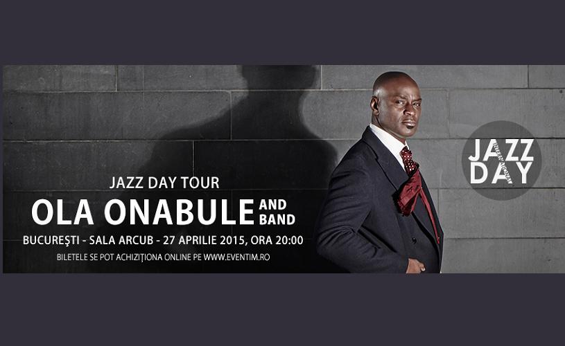 Ola Onabule, vocea soul-jazzului britanic, în concert la Bucureşti