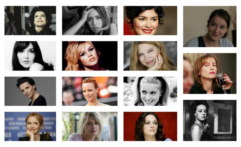 <strong>15 actrițe</strong> pentru care iubim filmul francez