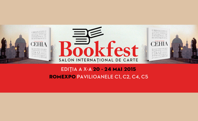 BOOKFEST 2015: Republica Cehă, invitatul de onoare