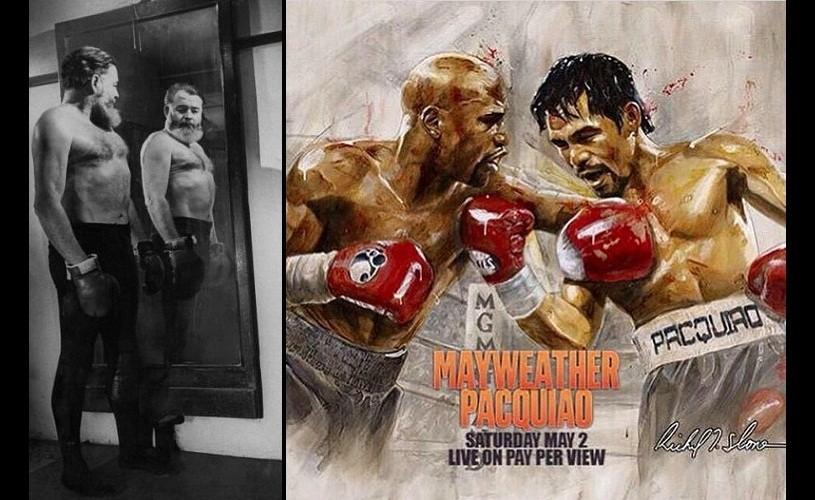 Box cu Hemingway, Mayweather și Pacquiao! / MECIUL SECOLULUI