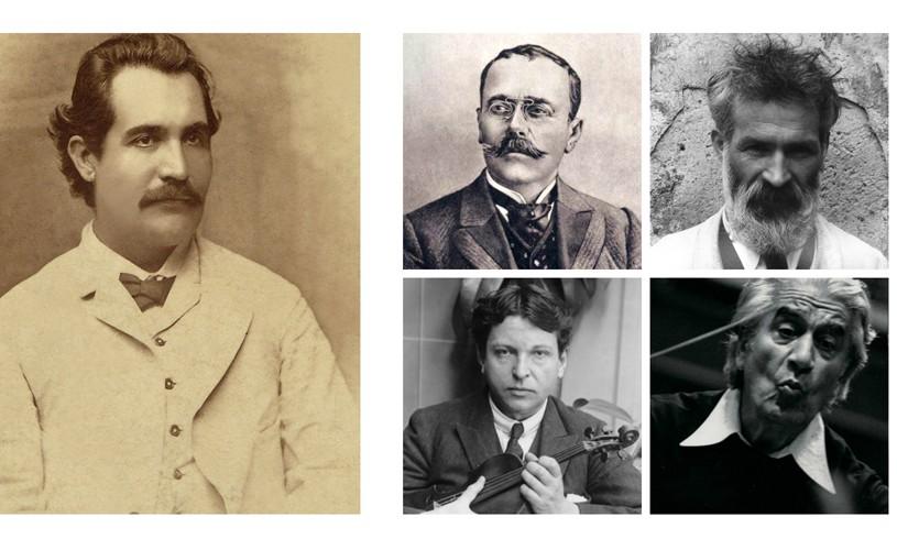 Memoria culturală. <strong>Zece</strong> povești inedite, cu Eminescu, Brâncuși, Caragiale și Enescu