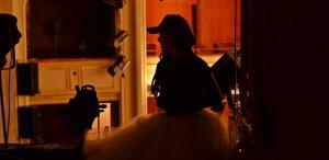 Carmen Lidia Vidu, în propriul rol, în scurt metrajul