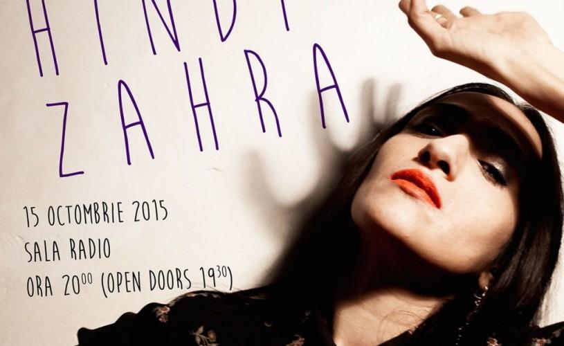 Hindi Zahra – primul concert în România