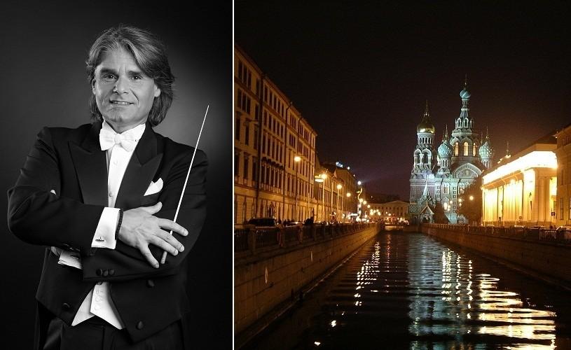 Ion Marin, Simfonia a 9-a de Gustav Mahler, la Sankt Petersburg