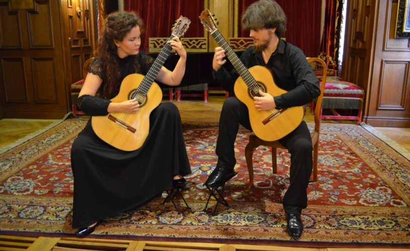 Stagiunea de marţi seara, la Ateneu: Duo Kitharsis
