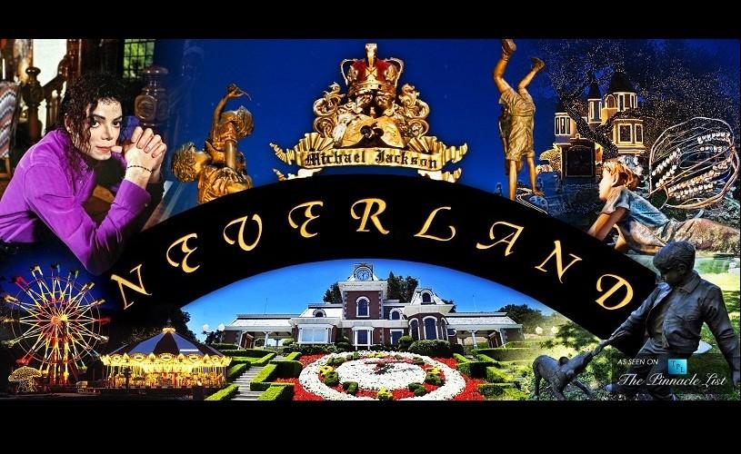 Neverland, fosta reşedinţă a lui Michael Jackson, scoasă la vânzare pentru 100 milioane dolari
