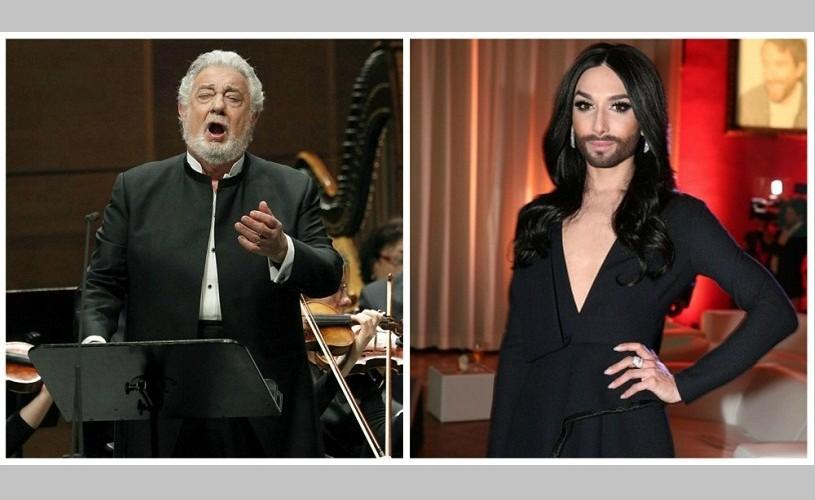 "Placido Domingo ""a abandonat-o"" pe Conchita Wurst"