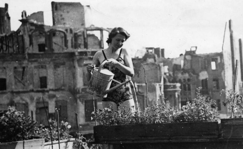 Viaţa obişnuită în Berlinul anului 1945, în imagini restaurate în HD