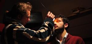 """Lari Giorgescu în """"Emigranții"""", o nouă premieră la Teatru TV"""