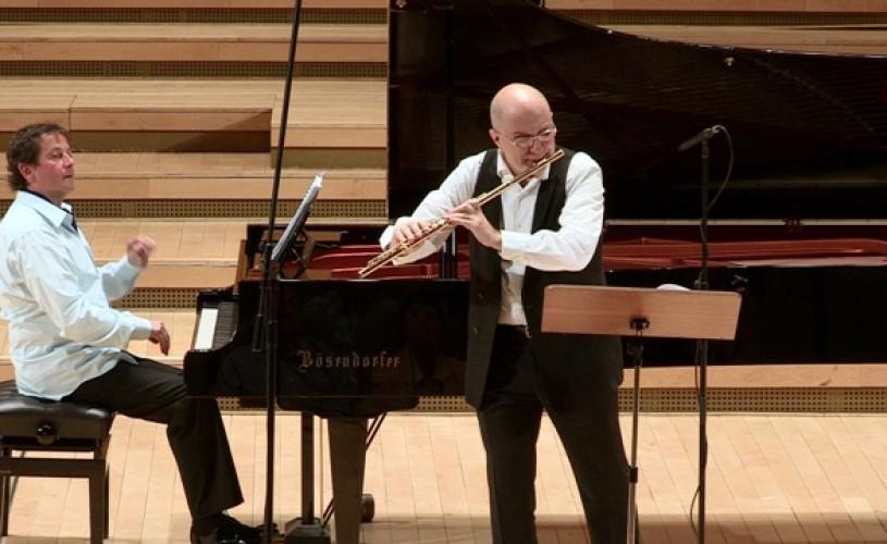 Ion Bogdan Ştefănescu şi Horia Mihail – a cincea ediţie a Turneului Flautul Fermecat