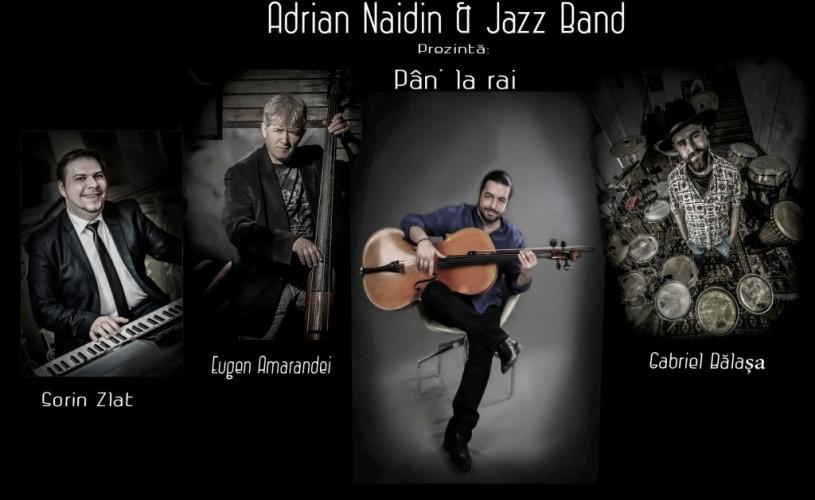 Adrian Naidin, în concert la Teatrul Odeon