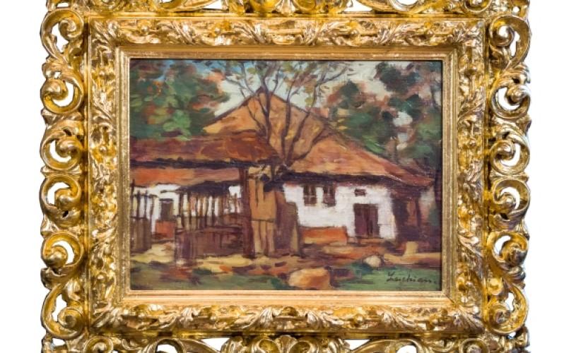"""""""Casa din Brebu"""", de Ştefan Luchian, scoasă la licitaţie"""
